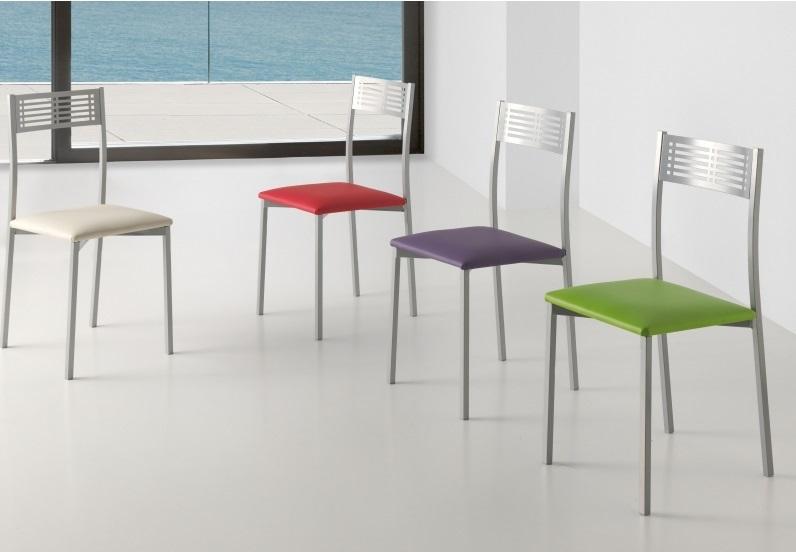 silla de cocina tapizada polipiel Estoril