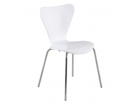 Silla Series 7 Jacobsen blanco