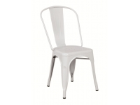 Silla Tolix A Chair metalica blanca