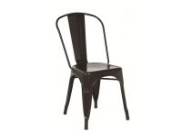 Silla Tolix A Chair metalica negra