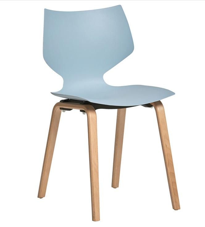 silla tula nordica polipropileno azul