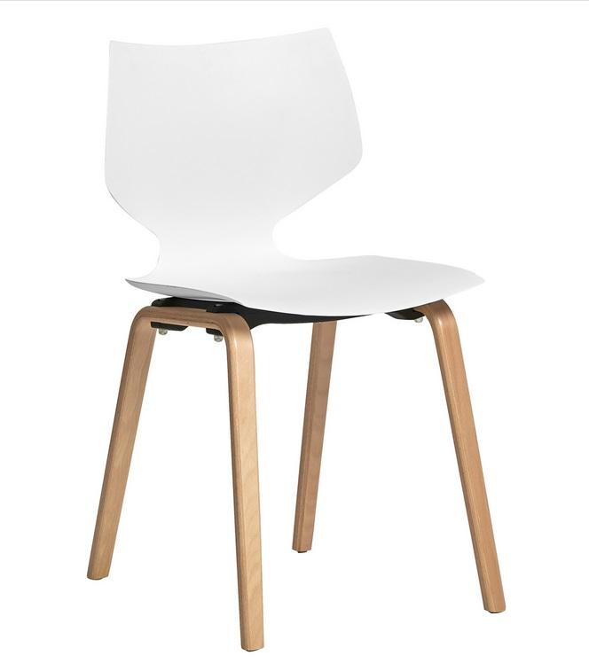 silla tula nordica polipropileno blanco