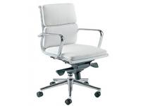 Silla Soft Pad Aluminium EA 217 blanco