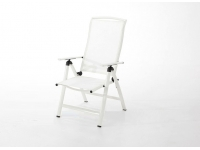 Sillon reclinable alumino blanco Taha