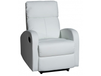 Sillon relax reclinable tavira blanco