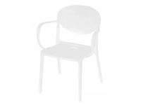 Sillon Patry polipropileno blanco