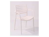 Sillon willy polipropileno blanco