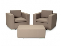 Conjunto sofas piel nautica 2plazas Manhattan