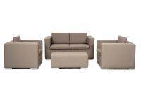 Conjunto sofas piel nautica 4plazas Manhattan