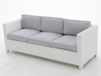 Sofa rattan 3 plazas Artic