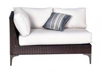 Sofa modulo izquierdo rattan land