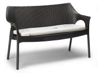Sofa Olimpo polipropileno trenzado Antracita