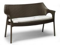 Sofa Olimpo polipropileno trenzado bronce