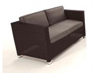 Sofa rattan 2 plazas kenia