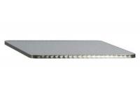 Tablero cuadrado acero inox 80x80