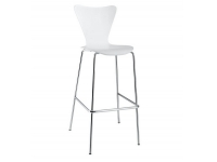 Taburete Series 7 Jacobsen blanco