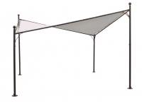Vela parasol lona crudo 350x350